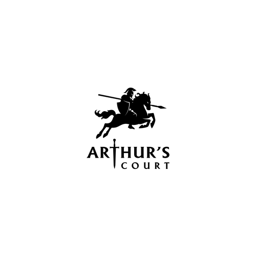 Legion logo with the title 'Arthur's Court'