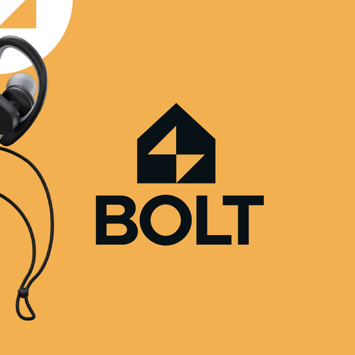 Lightning design with the title 'BOLT'