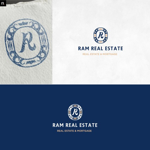 Work brand with the title 'Luxurious Based Real Estate'