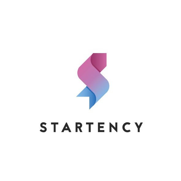 Start logo with the title 'Modern, sophisticated logo design '