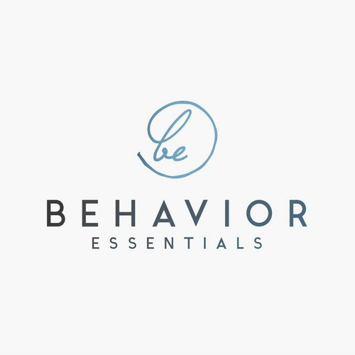 Therapy logo with the title 'Logo for Behavior Essentials - evidenced-based parent education.'