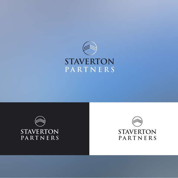 Formal logo with the title 'Create a captivating logo for Staverton Partners (a venture capital fund)'