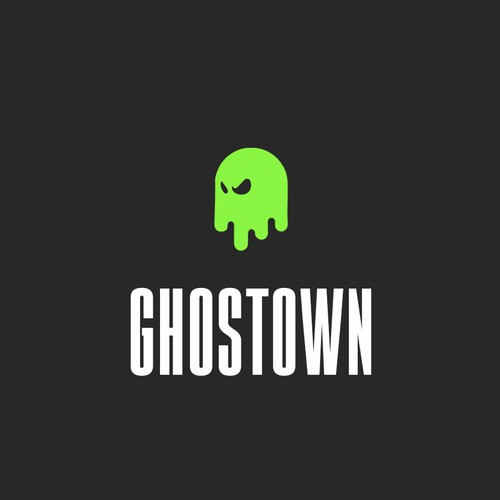 Ghost logo with the title 'Logo for Ghostown'