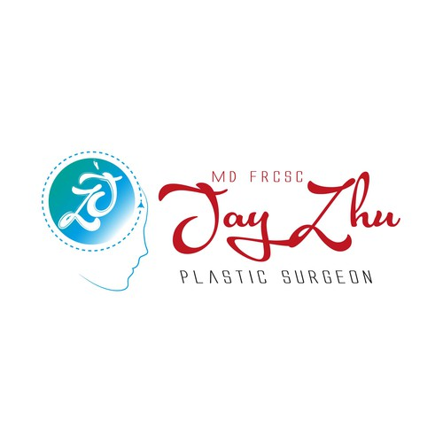Plastic logo with the title 'Logo for Plastic Surgeon (Second Sketch)'