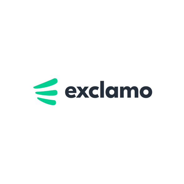 Trend logo with the title 'Logo for Exclamo'