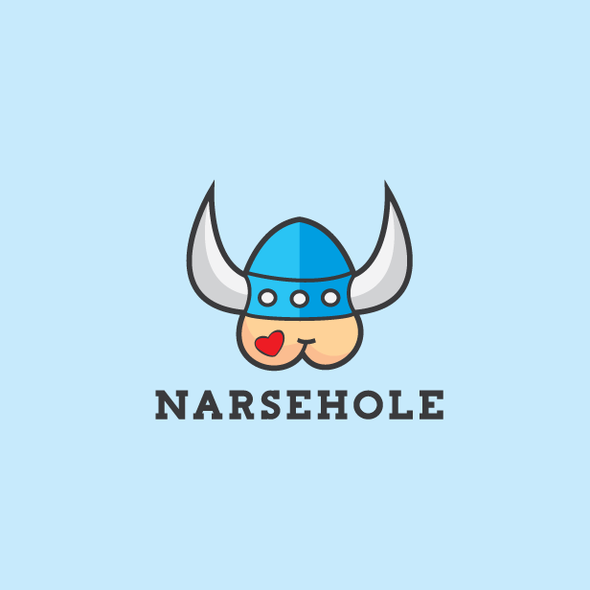 Witty design with the title 'Bold, witty and playful viking logo'
