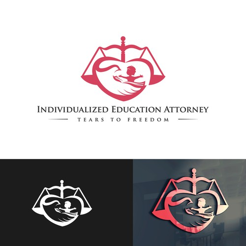 Dove design with the title 'Individualized Education Attorney'