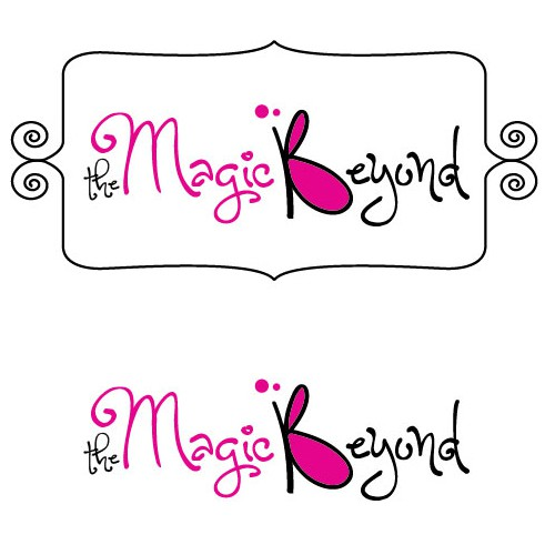 Magical logo with the title 'Playful logo for new magical toy range'
