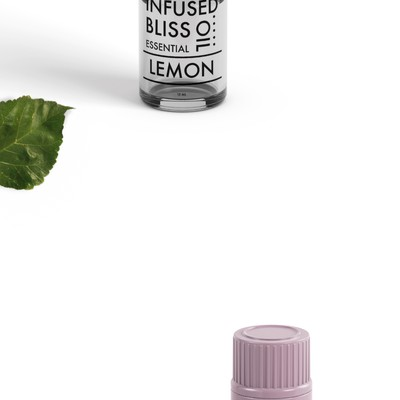 Infused Bliss - Essential oil minimal bottle design