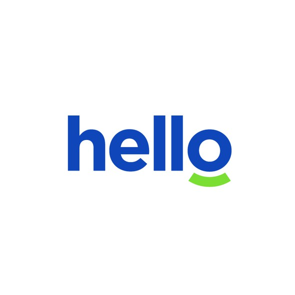 Wireless logo with the title 'hello'