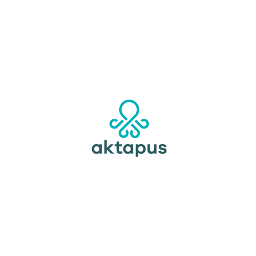Kraken logo with the title 'Logo for Aktapus'