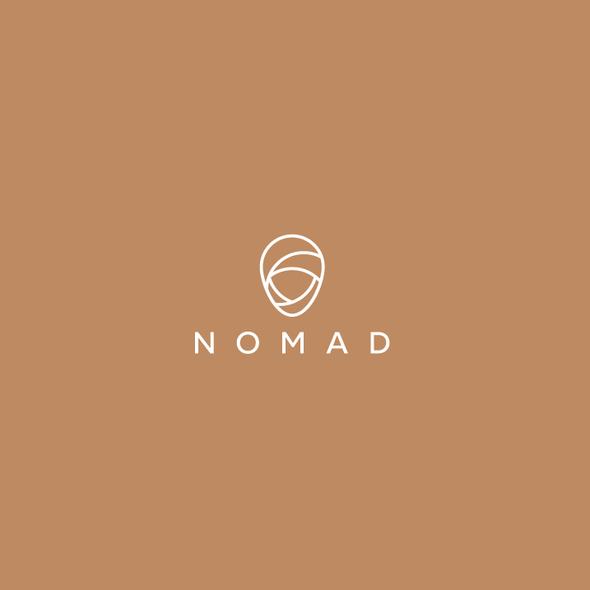 Nomad logo with the title 'Nomad Logo'