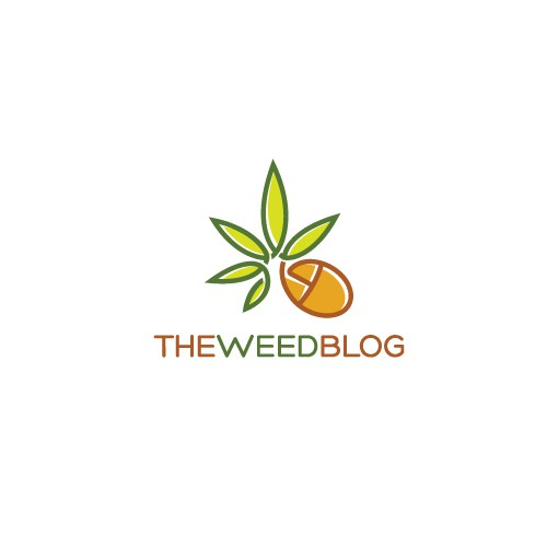 High design with the title 'Help THE Weed Blog with a new logo'
