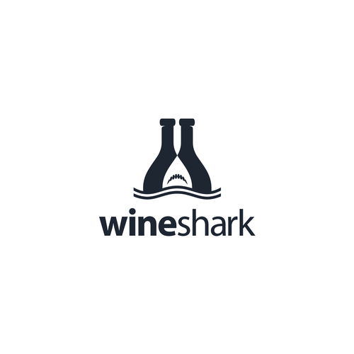 Shark logo with the title 'WineShark'