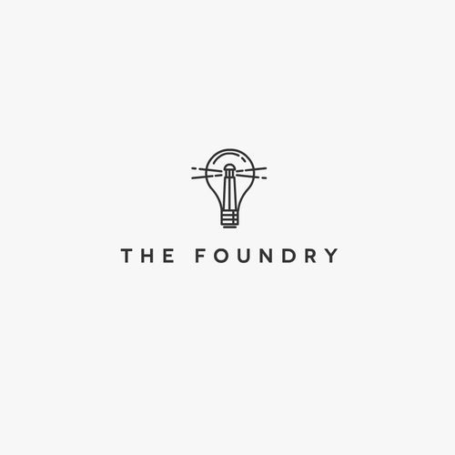 Lighthouse logo with the title 'The Foundry'