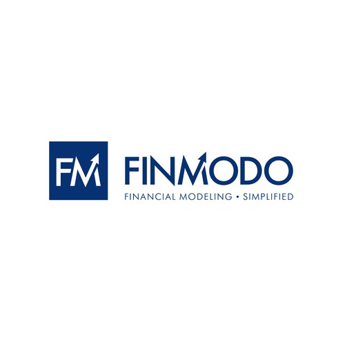 Financial service logo with the title 'FinModo Update Logo'