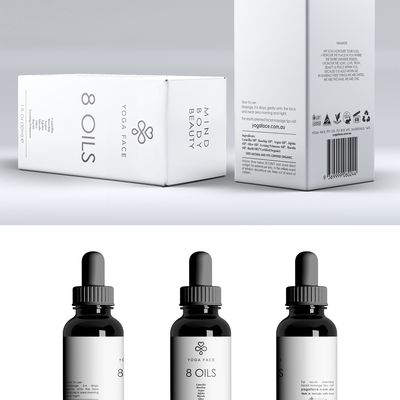 Minimal and simple packaging for cosmetics