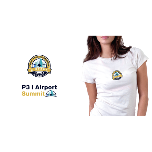Airport logo with the title 'P3 airport'