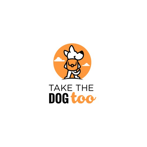 Quest logo with the title 'Take the dog too'