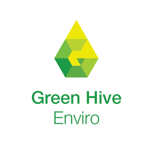 Letterform logo with the title 'Create a modern sleek logo for an environmental consultant with top end clients'