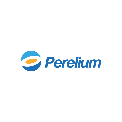 Blue circle logo with the title 'Perelium'