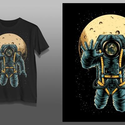 月亮宇航员