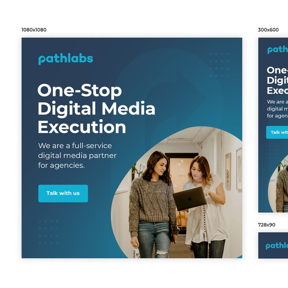 Google Ads design with the title 'Pathlabs'