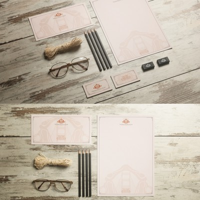 Stationery Concept For Medical Office