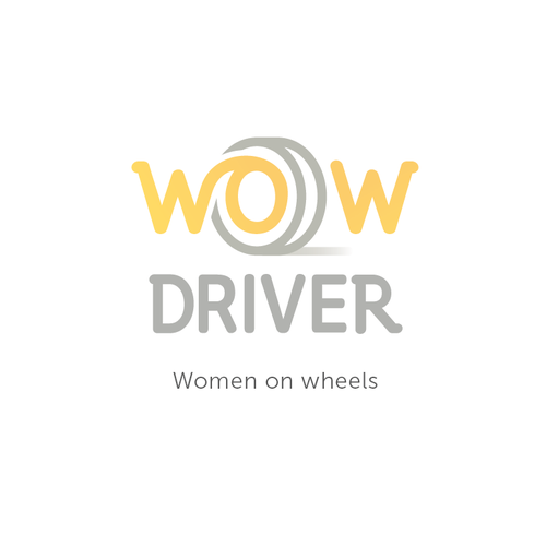 Driving logo with the title 'WOW Driver'