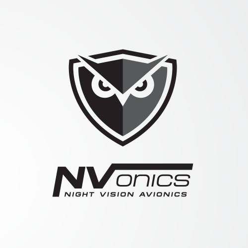 Aviator logo with the title 'https://99designs.com/logo-design/contests/design-eye-catching-logo-night-vision-product-aviators-623049/entries'