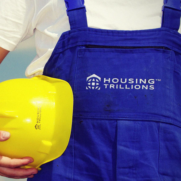 House logo with the title 'Logo for Housing Trillions'