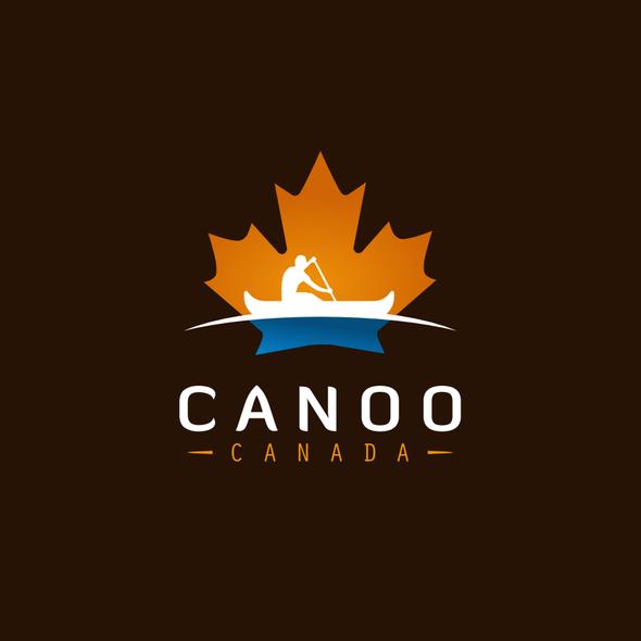 Canoe design with the title 'Canoo Canada '
