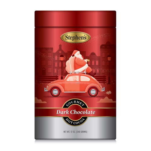 Cocoa design with the title 'Christmas Special Edition - 3 Cans'