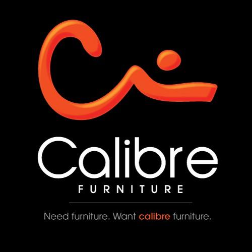 Shape design with the title 'Calibre Furniture Logo'