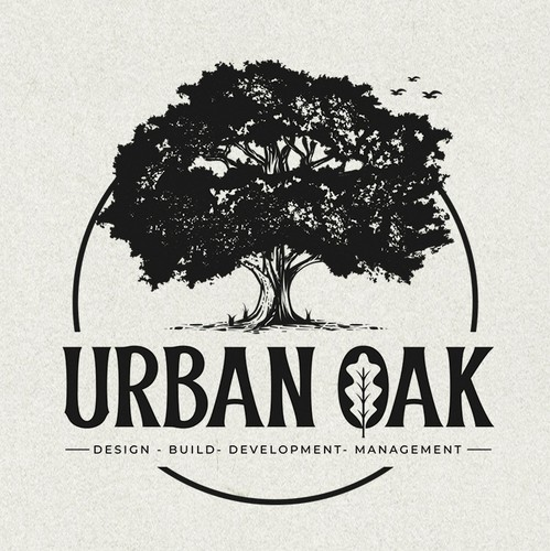 Arborist logo with the title 'URBAN OAK'