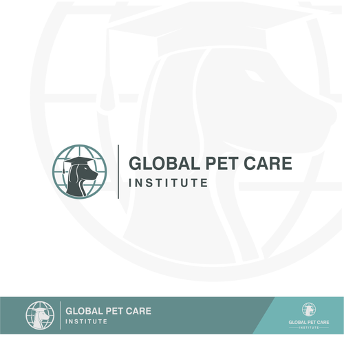 Institute logo with the title 'Global Pet Care Institute'