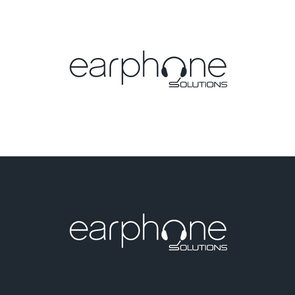 Smart logo with the title 'Earphone Solutions needs a new logo'