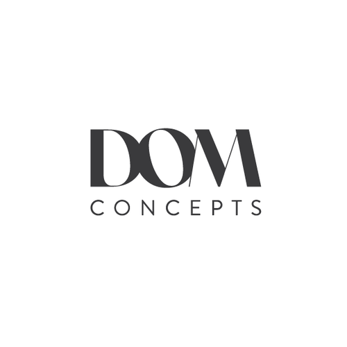 Simple brand with the title 'Logo for DOM'
