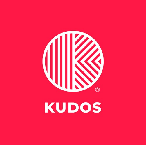 "Candy logo with the title '""K""- monogram for KUDOS '"