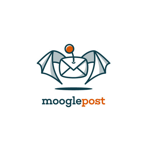 Post design with the title 'Create a dynamic and colorful logo for an emailing platform '
