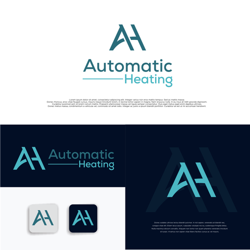 Stand-alone design with the title 'Automatic Heating'