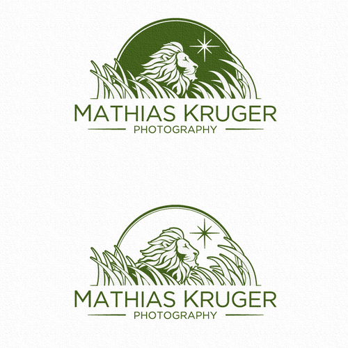 Jungle logo with the title 'Logo for Great Photographer'