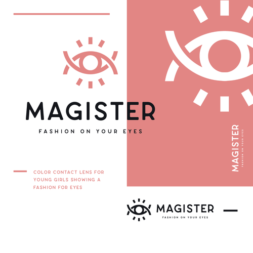 Beauty logo with the title 'MAGISTER'