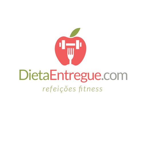 Diet logo with the title 'Logo for Dieta Entregue'