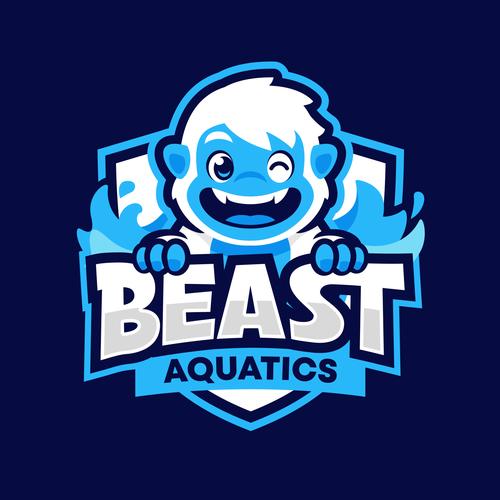 Pool design with the title 'Beast Aquatics'