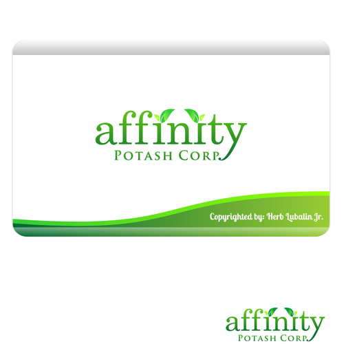Exploration logo with the title 'Affinity Potash'