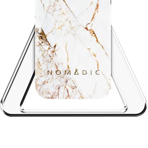 Nomad design with the title 'Nomadic Luxury Brand Identity'