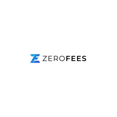 Zero logo with the title 'Modern and simple '