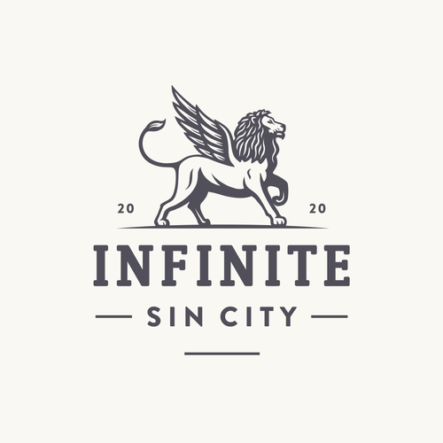 Infinity design with the title 'Infinite Sin City'