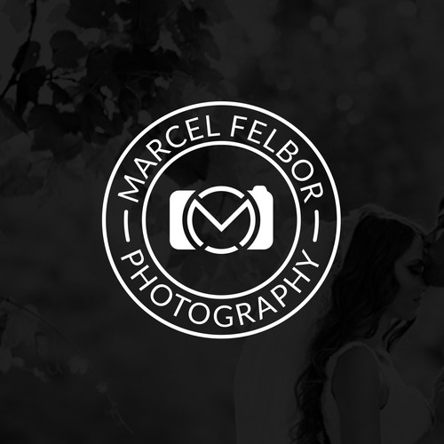 M logo with the title 'M + Camera'